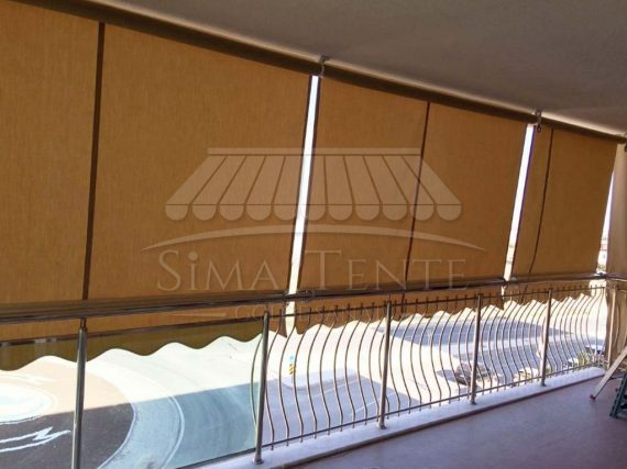 Balkon Branda Perde Sistemleri