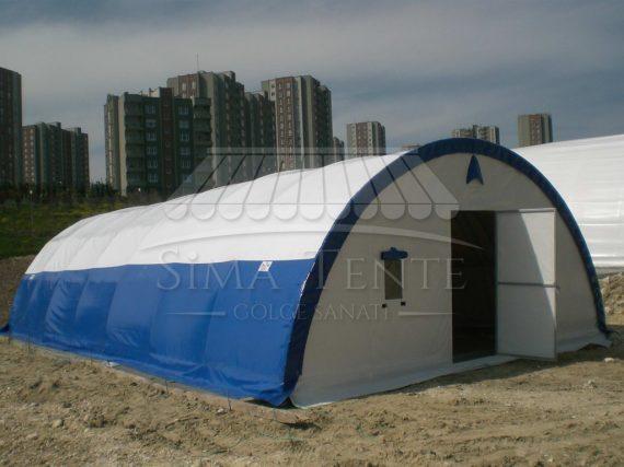 Sima tente ve Çadır Sistemleri Şantiye ÇAdırı