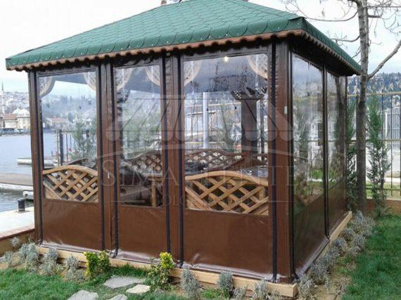Şeffaf Branda Kış Bahçesi